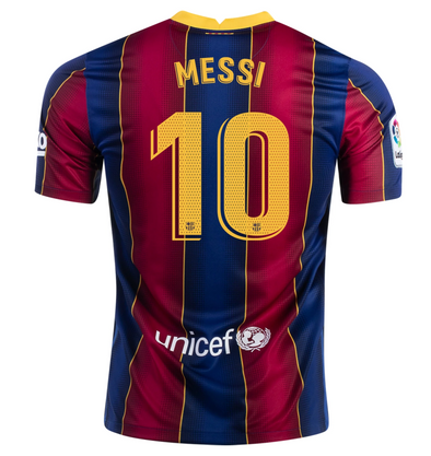 Nike Lionel Messi 2020-21 FC Barcelona Home Jersey - YOUTH