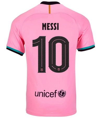 Nike Lionel Messi 2020-21 FC Barcelona THIRD Jersey - YOUTH