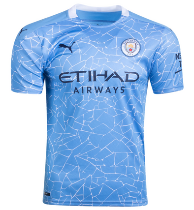 Puma  2020-21 Manchester City Home Jersey - MENS