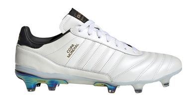 adidas Eternal Class.1 Copa Mundial Firm Ground Soccer Cleats - Core White/Core White/Gold Metallic