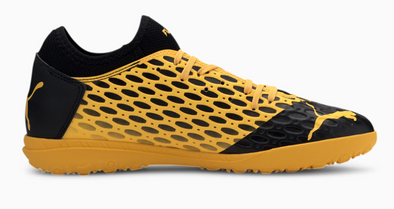 Puma FUTURE 5.4 TT Turf Soccer Cleat - Yellow/Black