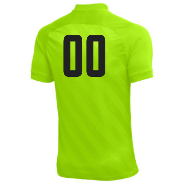 Montclair United Match Fit Nike US Challenge III GK Jersey Volt