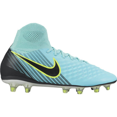 Nike Womens Magista Orden II FG W- Firm Ground Soccer Cleat- Light Aqua/Igloo White