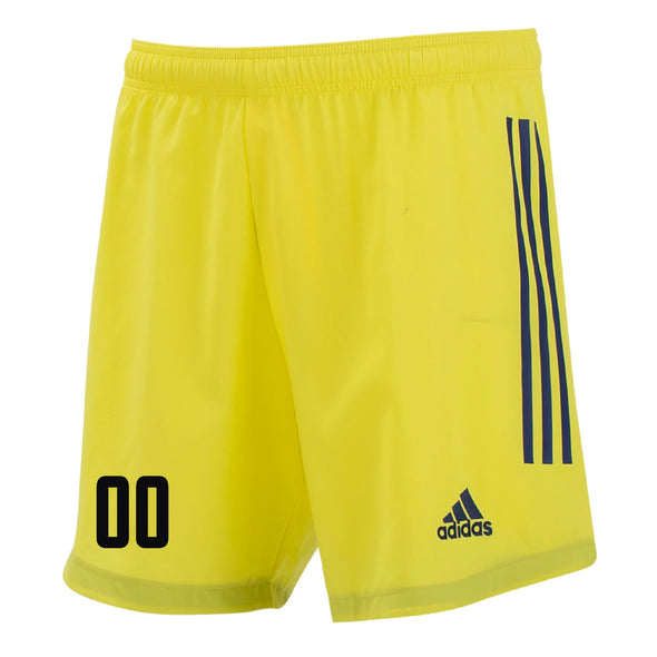 Ironbound SC adidas Condivo 20 GK Shorts - Yellow