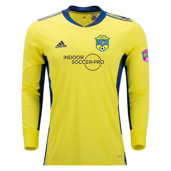 Brazilian Soccer Training adidas AdiPro 20 GK Long Sleeve GK Jersey - Yellow