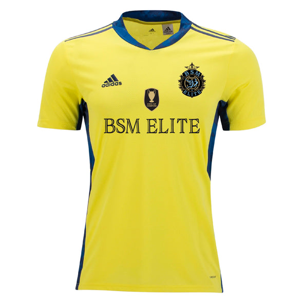 BSM Elite adidas AdiPro 20 GK Short Sleeve GK Jersey - Yellow