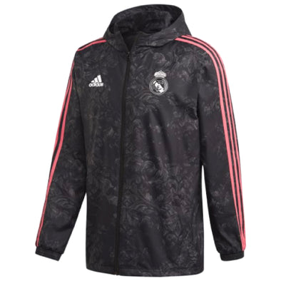 adidas 2020-21 Real Madrid Windbreaker - MENS