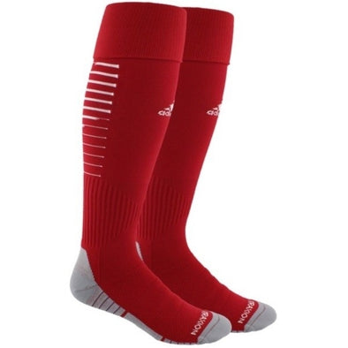 adidas Team Speed II Soccer Socks - Red/White