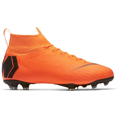 Nike Junior Mercurial Superfly 6 Elite FG -Orange-Black-Volt
