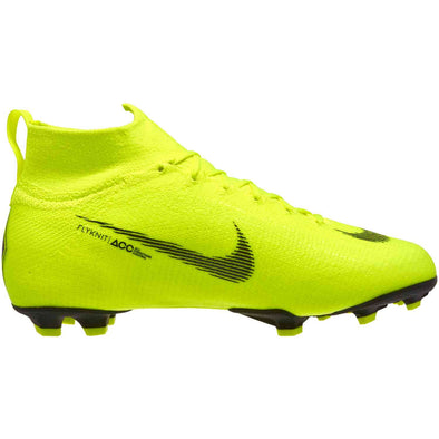 Nike Junior Mercurial Superfly 6 Elite FG - Volt-Black