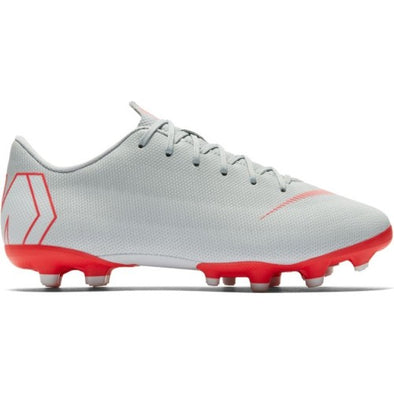 Nike Junior Mercurial Vapor 12 Academy MG - BomberGrey-Red