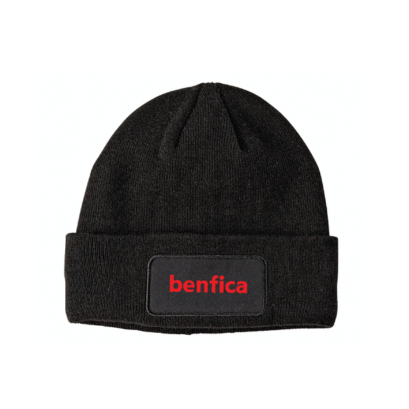 Benfica AZ Big Accessories Patch Beanie Black