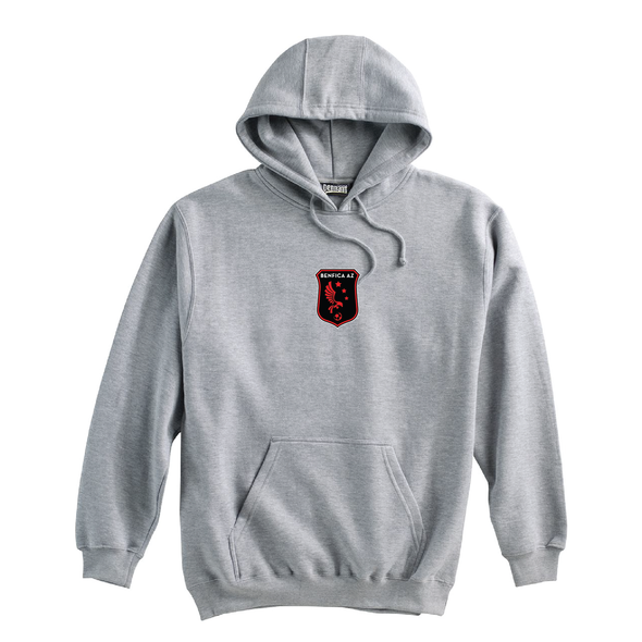 Benfica AZ (Patch) Pennant Super 10 Hoodie Grey