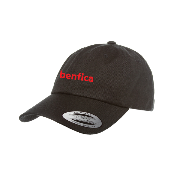 Benfica AZ Yupoong Cotton Twill Dad Cap Black