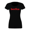 Benfica AZ (Club Name) Bella + Canvas Short Sleeve Triblend T-Shirt Solid Black