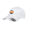BFA Yupoong Cotton Twill Dad Cap White