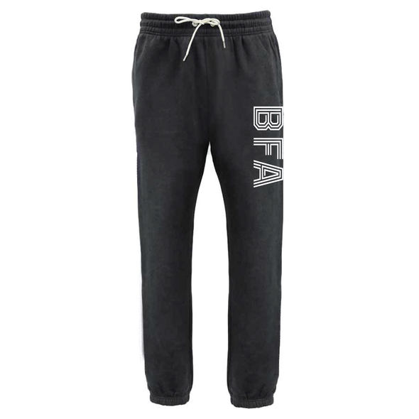 BFA (Club Name) Pennant Retro Jogger Black