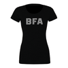 BFA (Club Name) Bella + Canvas Short Sleeve Triblend T-Shirt Solid Black