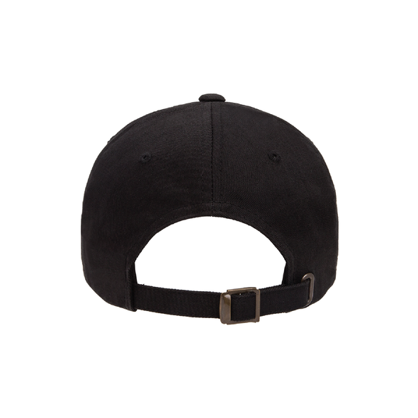 Plainview Old Bethpage Yupoong Cotton Twill Dad Cap Black