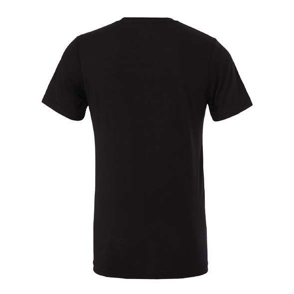 Kaptiva Sports (Logo) Bella + Canvas Short Sleeve Triblend T-Shirt Solid Black