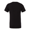 Monroe Woodbury (Patch) Bella + Canvas Short Sleeve Triblend T-Shirt Solid Black