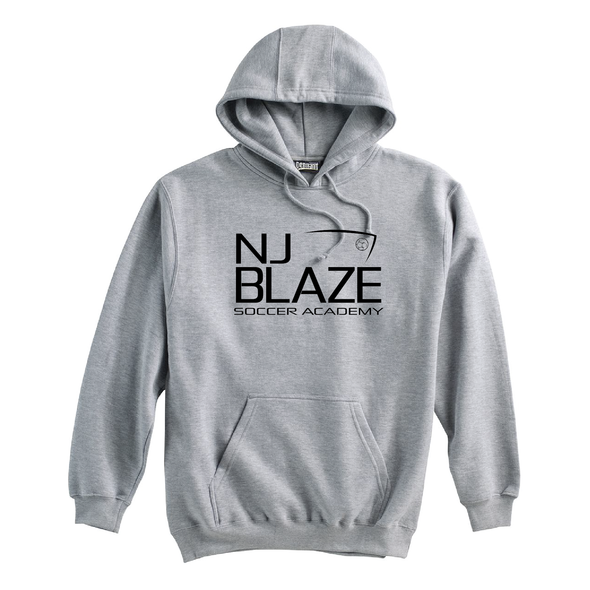 NJ Blaze (Club Name) Pennant Super 10 Hoodie Grey
