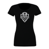 Bloomfield SC (Logo) Bella + Canvas Short Sleeve Triblend T-Shirt Solid Black