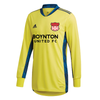 Boynton United adidas AdiPro 20 Long Sleeve GK Jersey Yellow