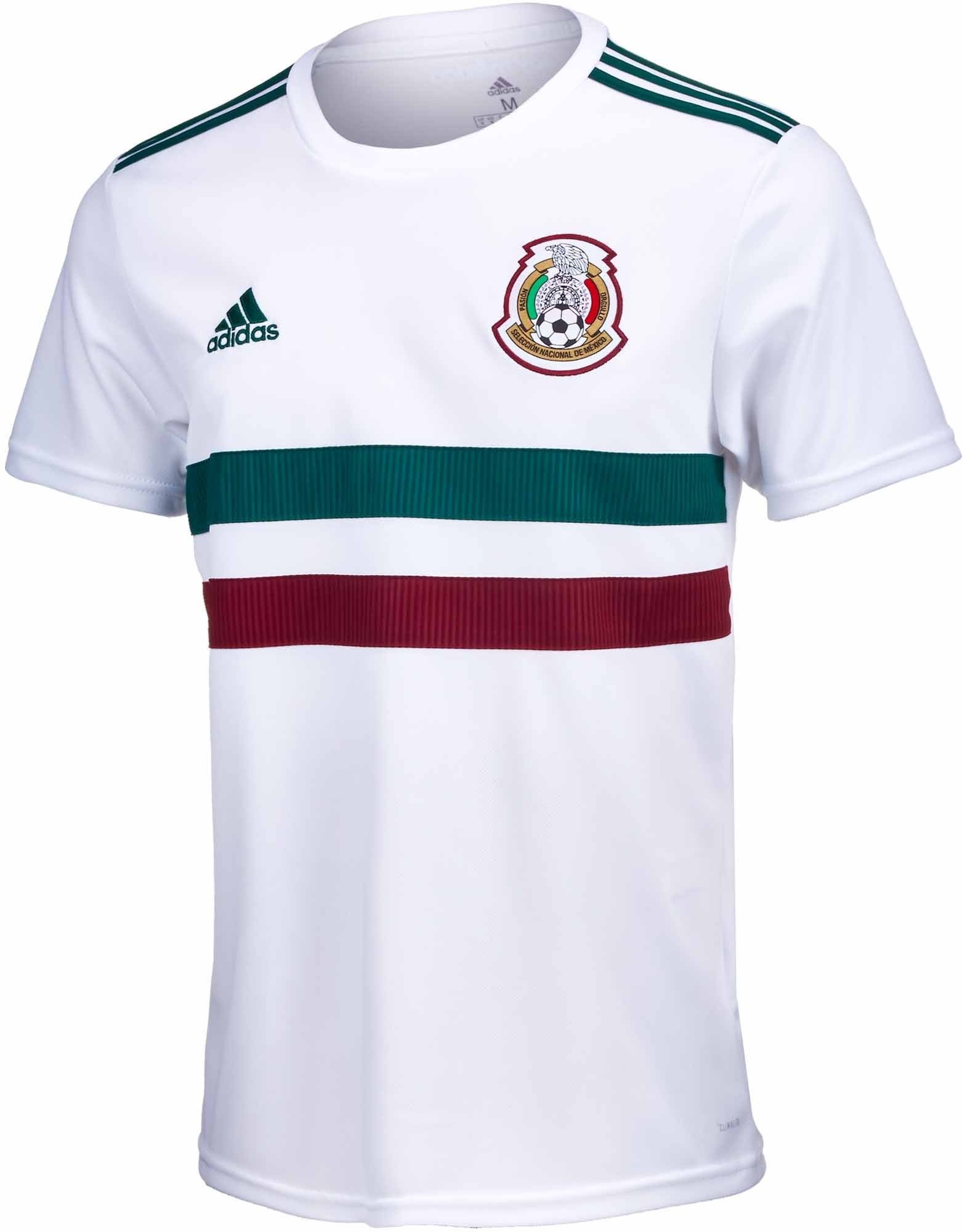 adidas Mexico Away Jersey - YOUTH