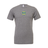 Brazilian Soccer Training (Patch) Bella + Canvas Short Sleeve Triblend T-Shirt Grey