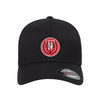 FC Copa Flexfit Wool Blend Fitted Cap Black