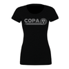 FC Copa (Club Name) Bella + Canvas Short Sleeve Triblend T-Shirt Solid Black