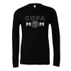 FC Copa (Copa Mom) Bella + Canvas Long Sleeve Triblend T-Shirt Heather Black