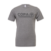FC Copa (Club Name) Bella + Canvas Short Sleeve Triblend T-Shirt Grey