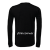 FC Copa (Club Name) Bella + Canvas Long Sleeve Triblend T-Shirt Heather Black
