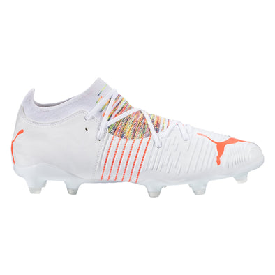 Puma Future Z 3.1 FG/AG Soccer Cleat - White / Red Blast