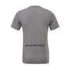 DUSC FAN (Logo) Bella + Canvas Short Sleeve Triblend T-Shirt Grey