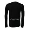 DUSC (Logo) Bella + Canvas Long Sleeve Triblend T-Shirt Heather Black