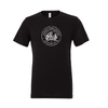 DUSC FAN (Logo) Bella + Canvas Short Sleeve Triblend T-Shirt Solid Black
