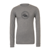EMSC FAN (Logo) Bella + Canvas Long Sleeve Triblend T-Shirt Grey