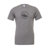 EMSC FAN (Logo) Bella + Canvas Short Sleeve Triblend T-Shirt Grey