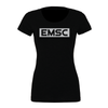 EMSC FAN (Club Name) Bella + Canvas Short Sleeve Triblend T-Shirt Solid Black