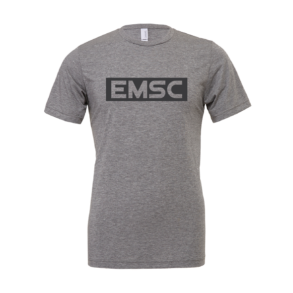 EMSC FAN (Club Name) Bella + Canvas Short Sleeve Triblend T-Shirt Grey