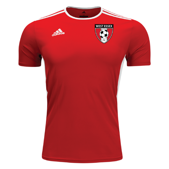 West Essex adidas Entrada 18 Jersey Red