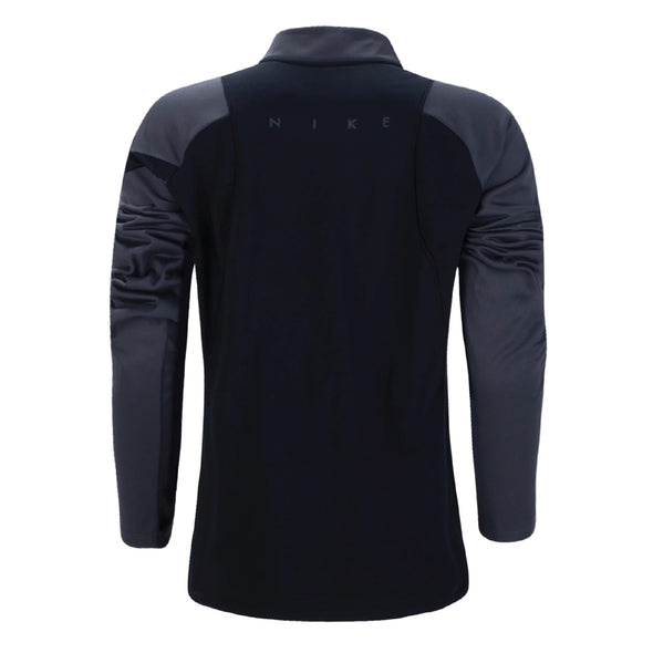 Quick Touch FC Nike Dry Academy Pro Drill Top - Black/Grey