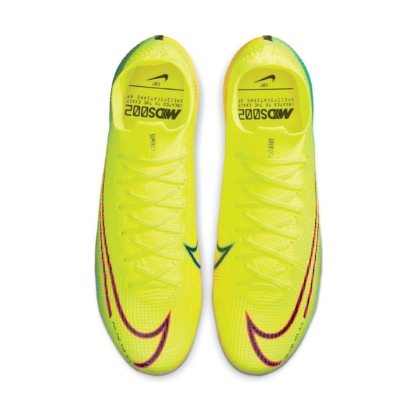Nike Mercurial Superfly 7 Elite MDS FG Lemon Venom/Green