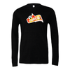 FORCE Bella + Canvas Long Sleeve Triblend T-Shirt Heather Black