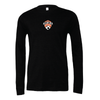 Fort Lee SC (Patch) Bella + Canvas Long Sleeve Triblend T-Shirt Heather Black