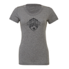 Fort Lee SC (Logo) Bella + Canvas Short Sleeve Triblend T-Shirt Grey