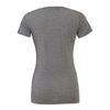 Monroe Woodbury (Logo) Bella + Canvas Short Sleeve Triblend T-Shirt Grey